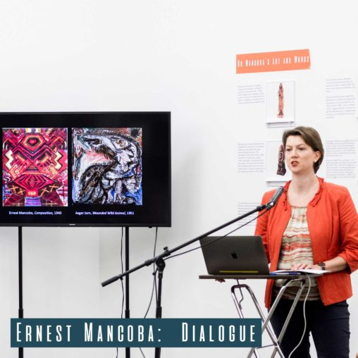 Karen Kurczynski presenting her talk