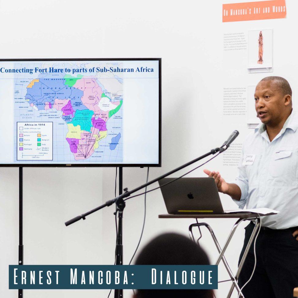 Prof. Luvuyo Wotshela giving his talk