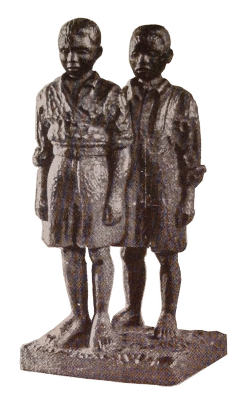 Ernest Mancoba, 1934, wood sculpture, unknown size