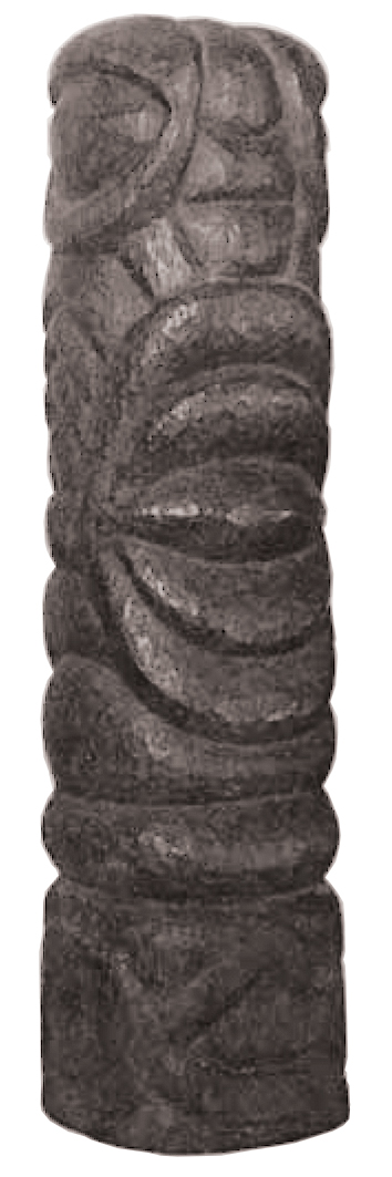 Ernest Mancoba, wood sculpture, private collection