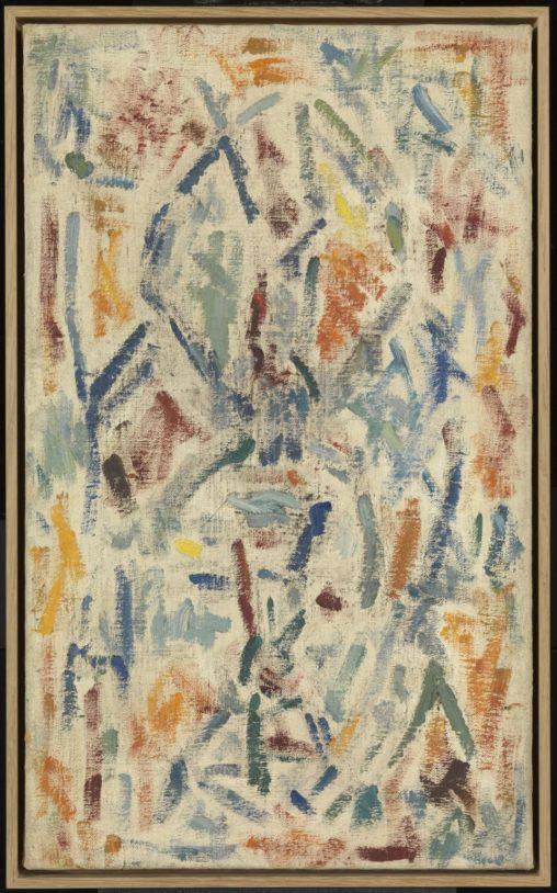 Ernest Mancoba, oil on canvas, Tate Modern