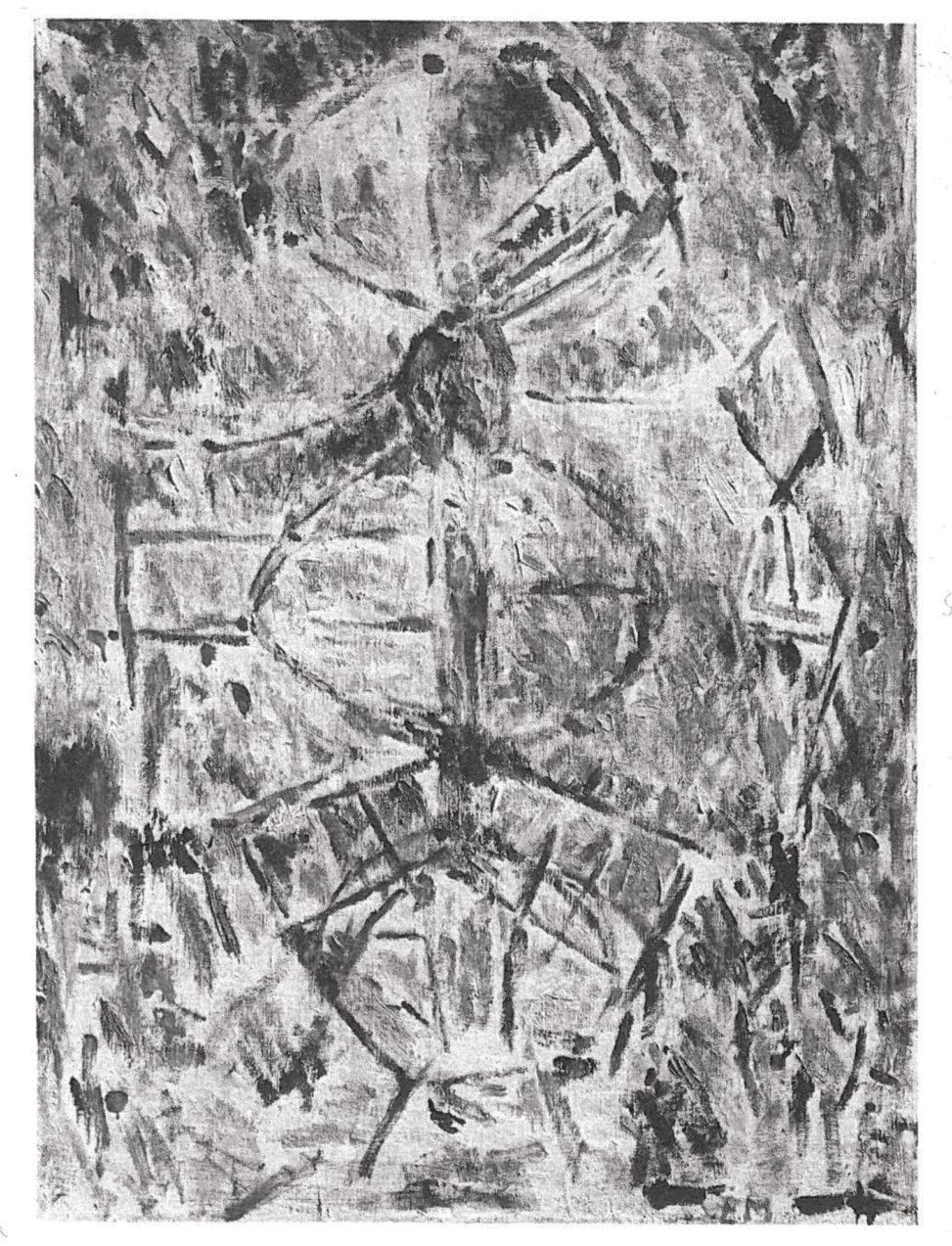 Ernest Mancoba, oil on canvas