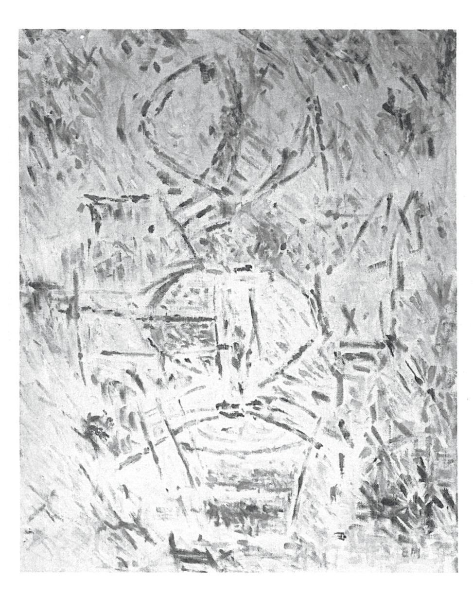 Ernest Mancoba, oil on canvas, Jorn Museum