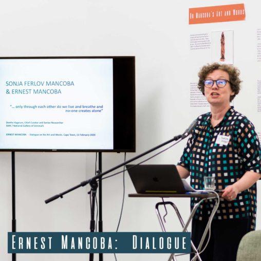 Danish National Gallery Senior Curator Dorthe Aagesen giving her talk