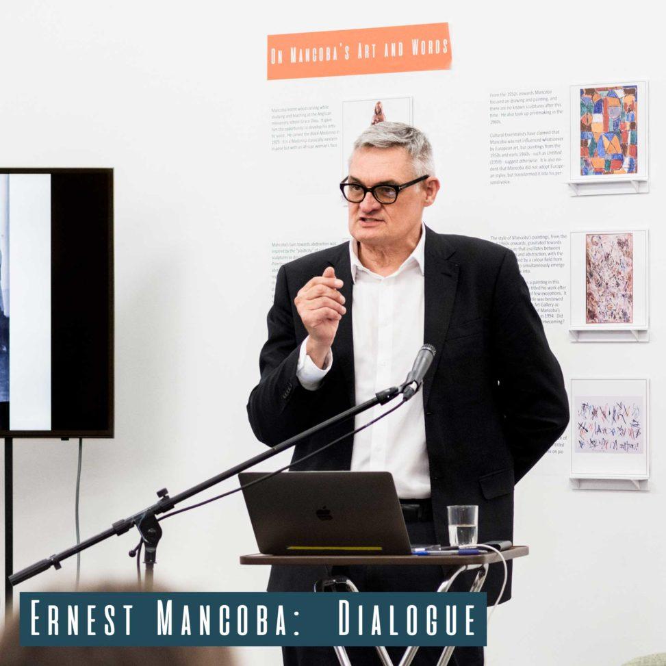 Wilhelm van Rensburg giving his talk